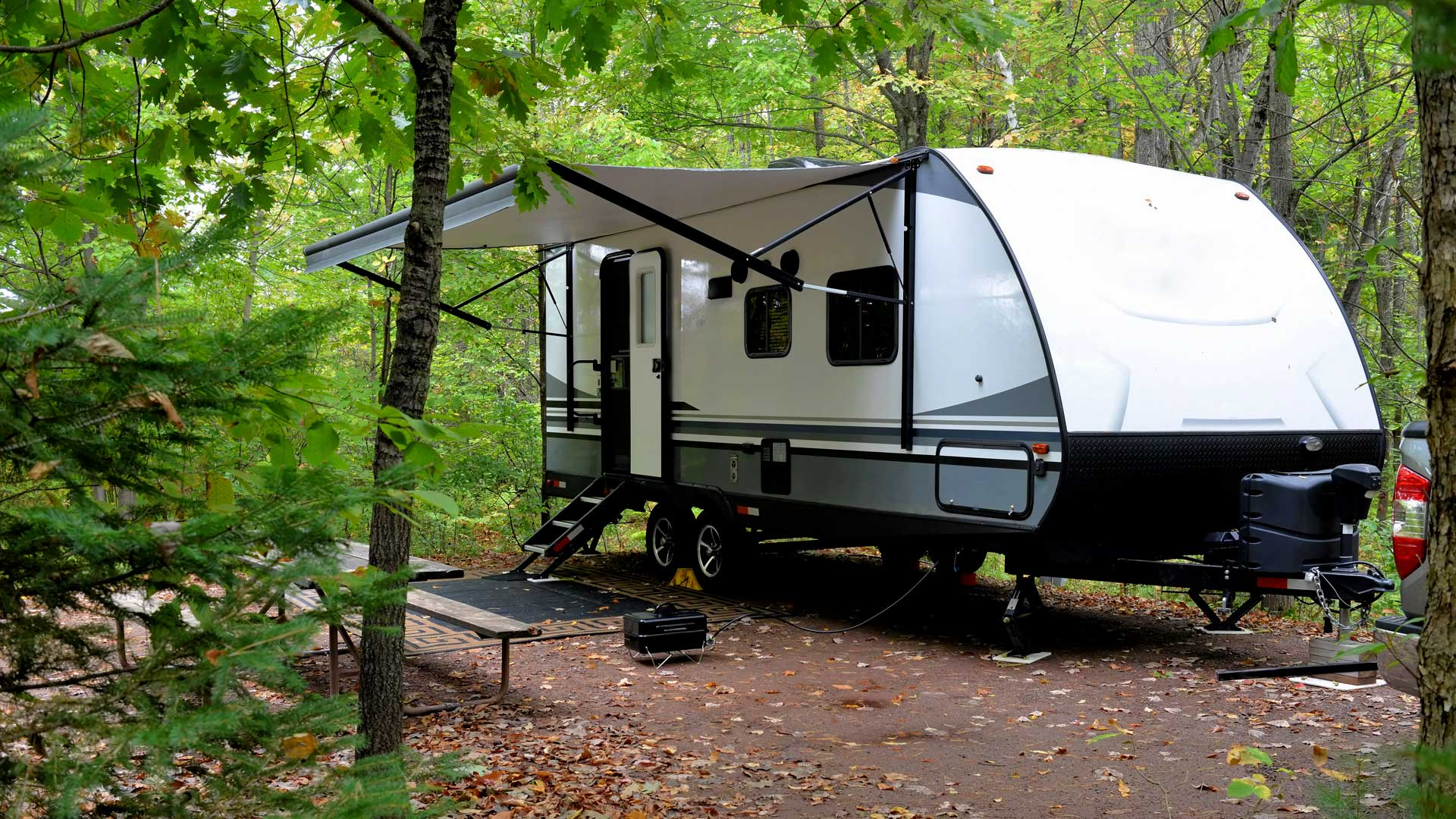 Camping trailer insurance from April Insurance Agency in San Francisco California